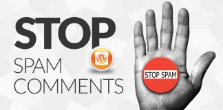 stop spam comment